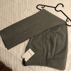 REISS Mid gray Claris pants NWT